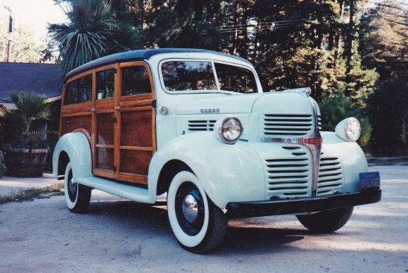 1946 Dodge Cantrell Woo Wagon
